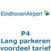 P4 lang parkeren Eindhoven Airport